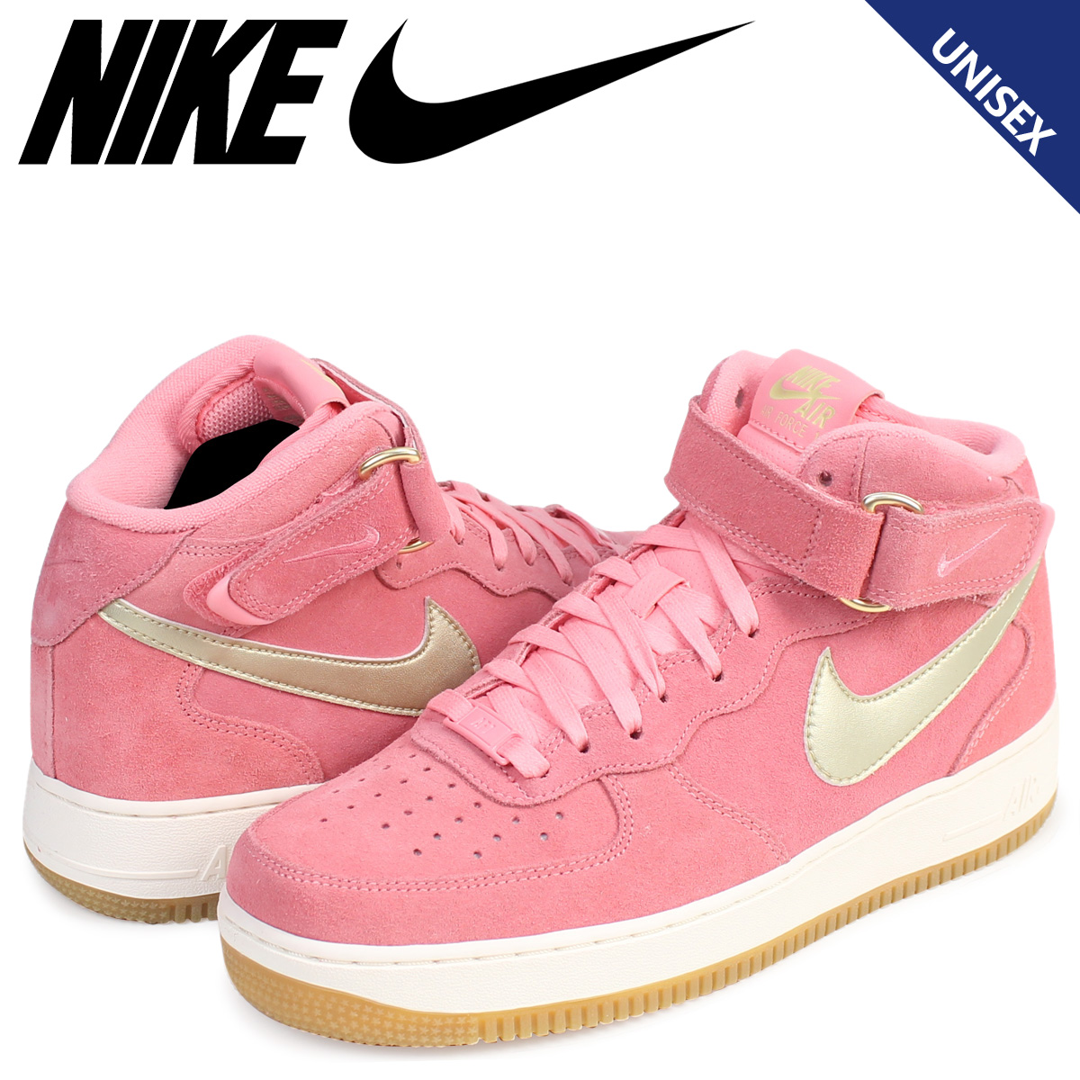 702ac8ab7d5 Whats up Sports  Nike NIKE air force 1 sneakers WMNS AIR FORCE 1 MID 07  SEASONAL 818