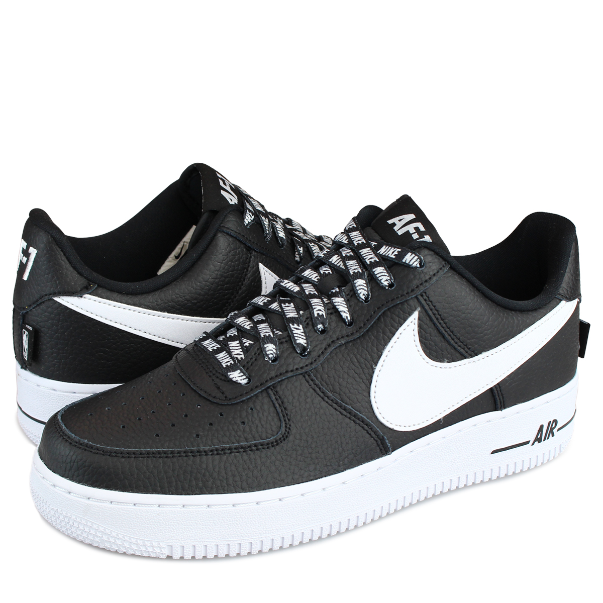 the latest 0a7cb 7dba1 NIKE AIR FORCE 1 STATEMENT GAME Nike air force 1 07 LV8 sneakers  823,511-007 men's shoes black white [load planned Shinnyu load in  reservation product ...