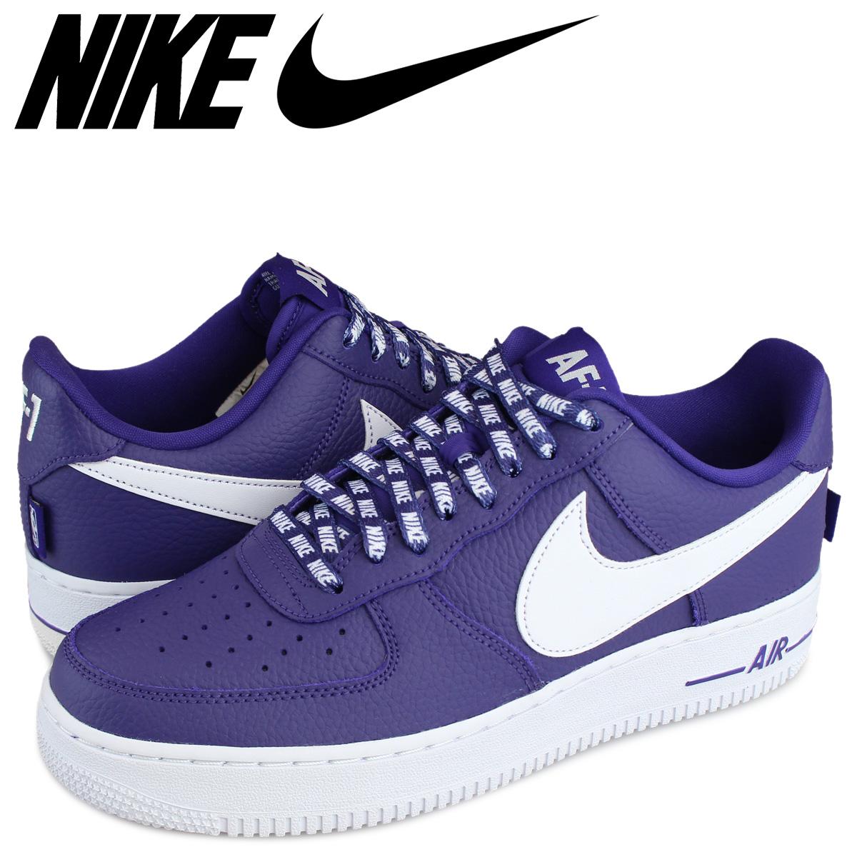 Buy nike air force 1 07 mens purple