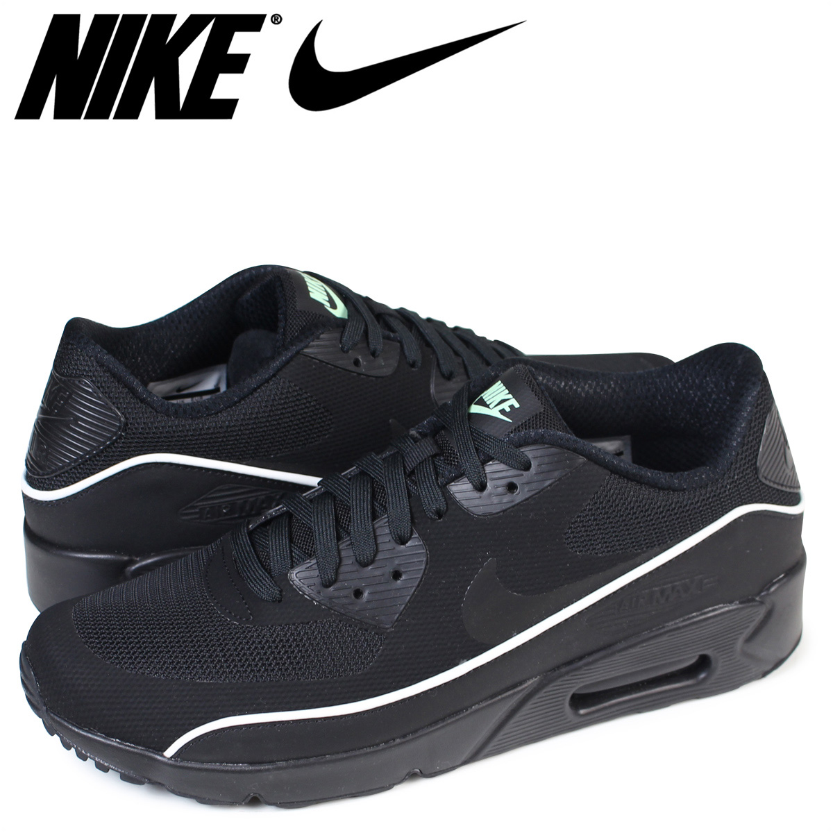 the latest a7e28 8a215 Nike NIKE Air Max 90 essential ultra sneakers AIR MAX 90 ULTRA 2.0  ESSENTIAL 875,695-009 men's shoes black [9/4 Shinnyu load]