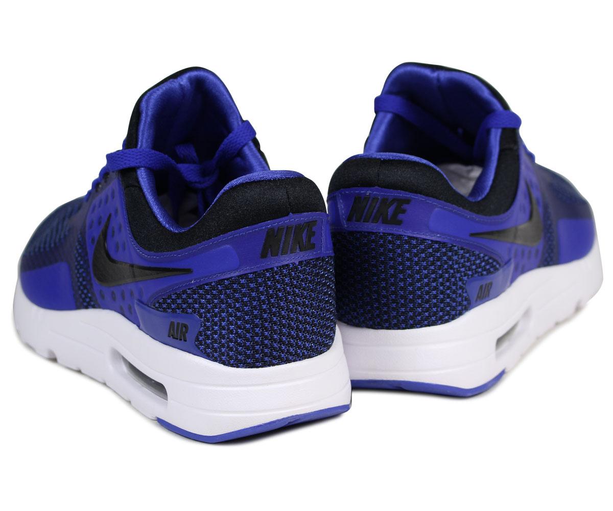 Nike NIKE Air Max zero sneakers AIR MAX ZERO ESSENTIAL 876,070 001 men's blue