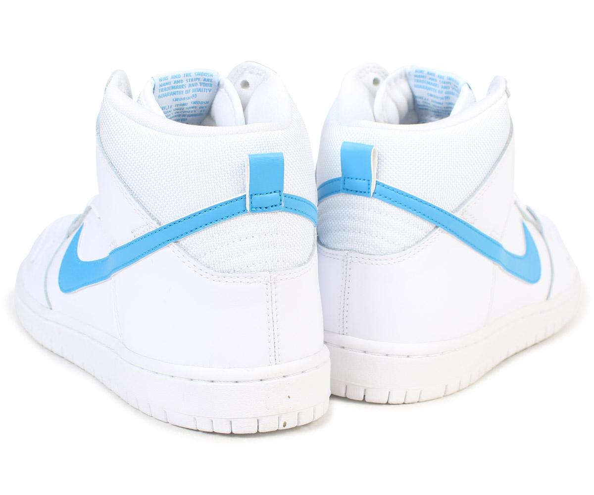 Nike NIKE SB dunk high sneakers DUNK HIGH TRD QS MULDER 881,758-141 men's  shoes white [9/6 Shinnyu load]