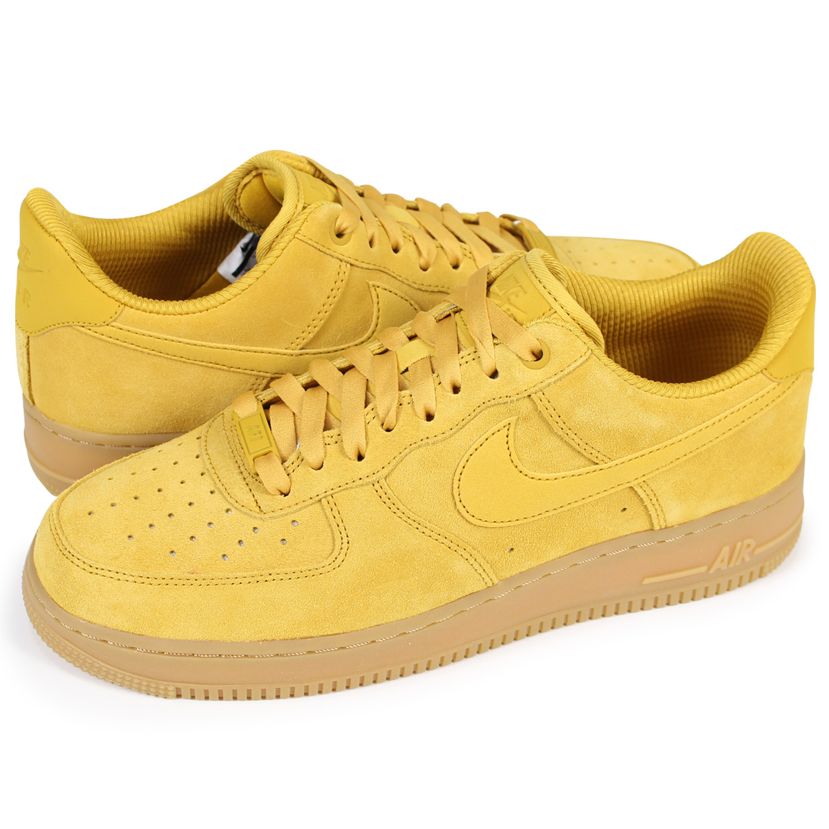 NIKE WMNS AIR FORCE 1 SE Nike air force 1 07 lady's men's sneakers 896,184- 700 yellow [load planned Shinnyu load in reservation product 1/20  containing]