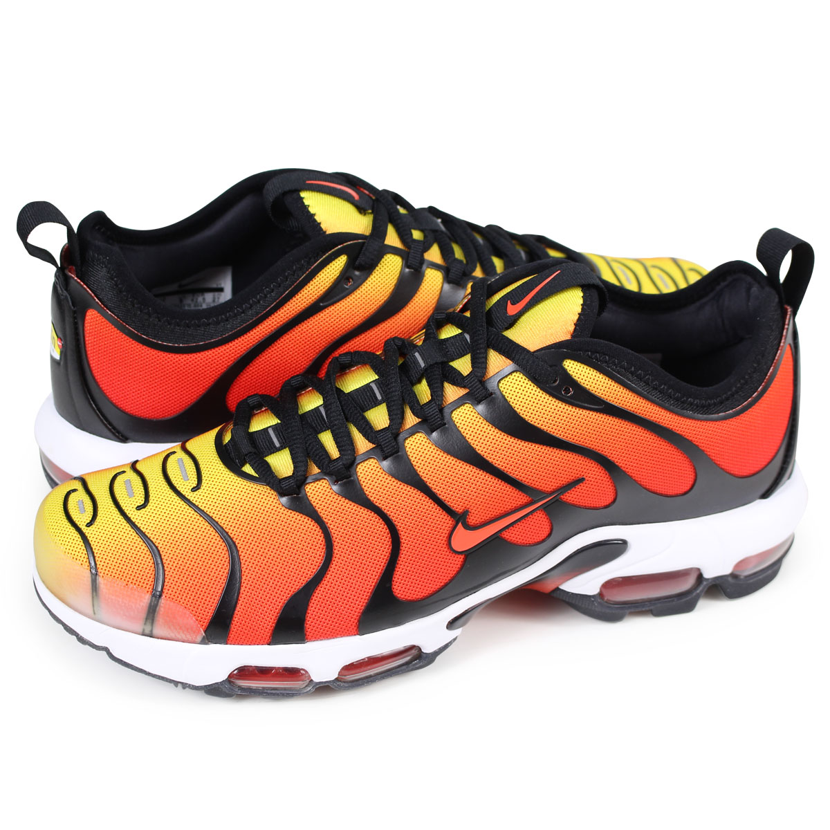 wholesale dealer e8281 513aa NIKE AIR MAX PLUS TN ULTRA Kie Ney AMAX plus sneakers men 898,015-004 orange  ...