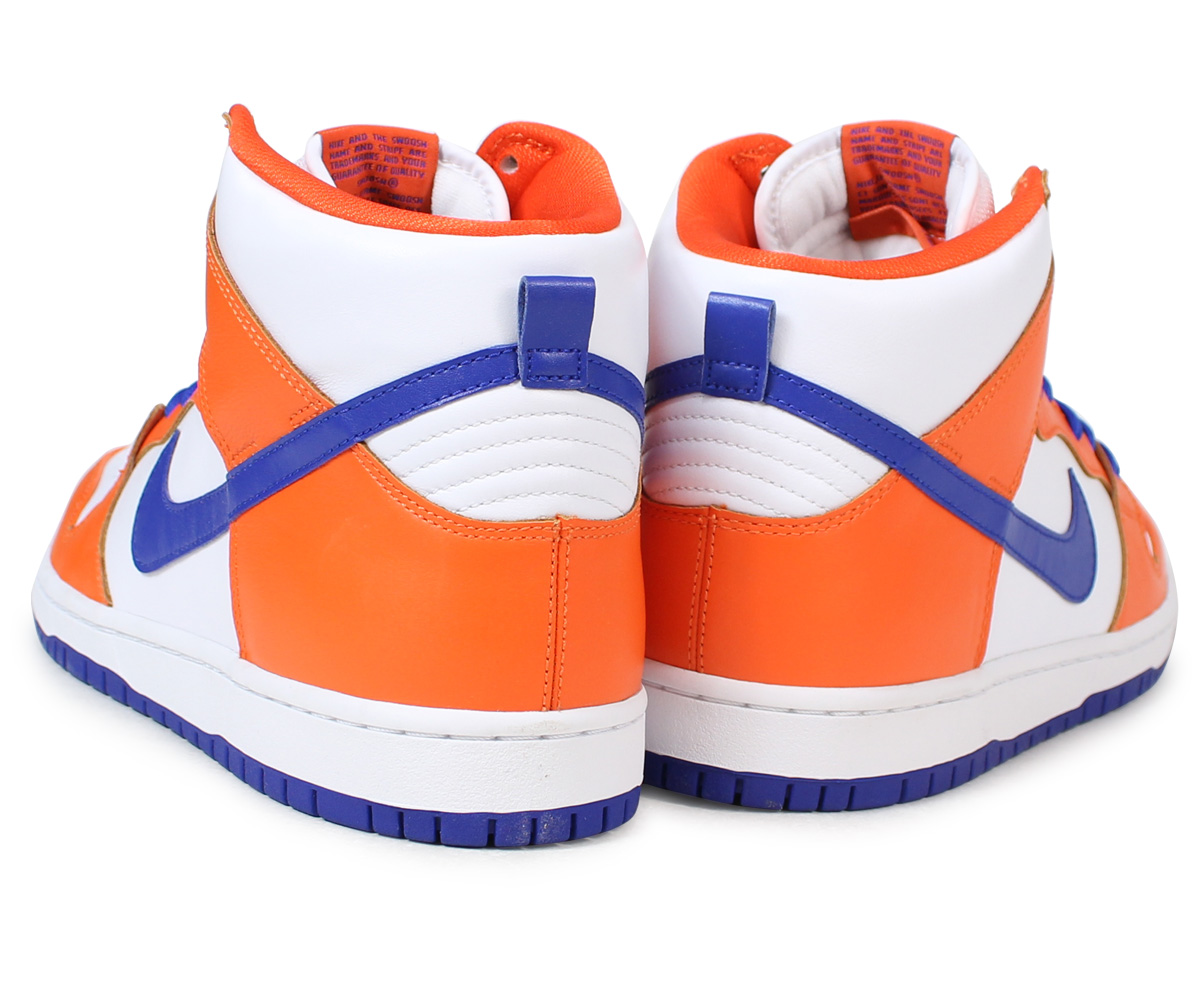 NIKE SB DUNK HIGH TRD QS DANNY SUPA Nike dunk high sneakers AH0471-841 men  shoes orange [load planned Shinnyu load in reservation product 12/6  containing]