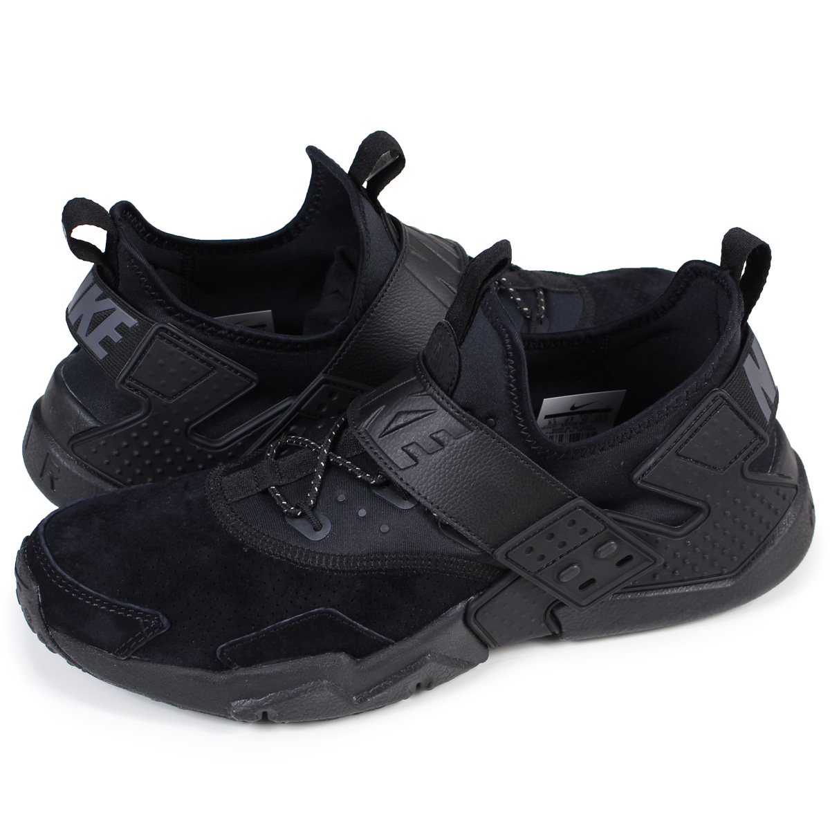 febaadcefa4d NIKE AIR HUARACHE DRIFT PREMIUM ナイキエアハラチドリフトスニーカー AH7335-001 men black   load planned Shinnyu load in reservation product 1 23 containing