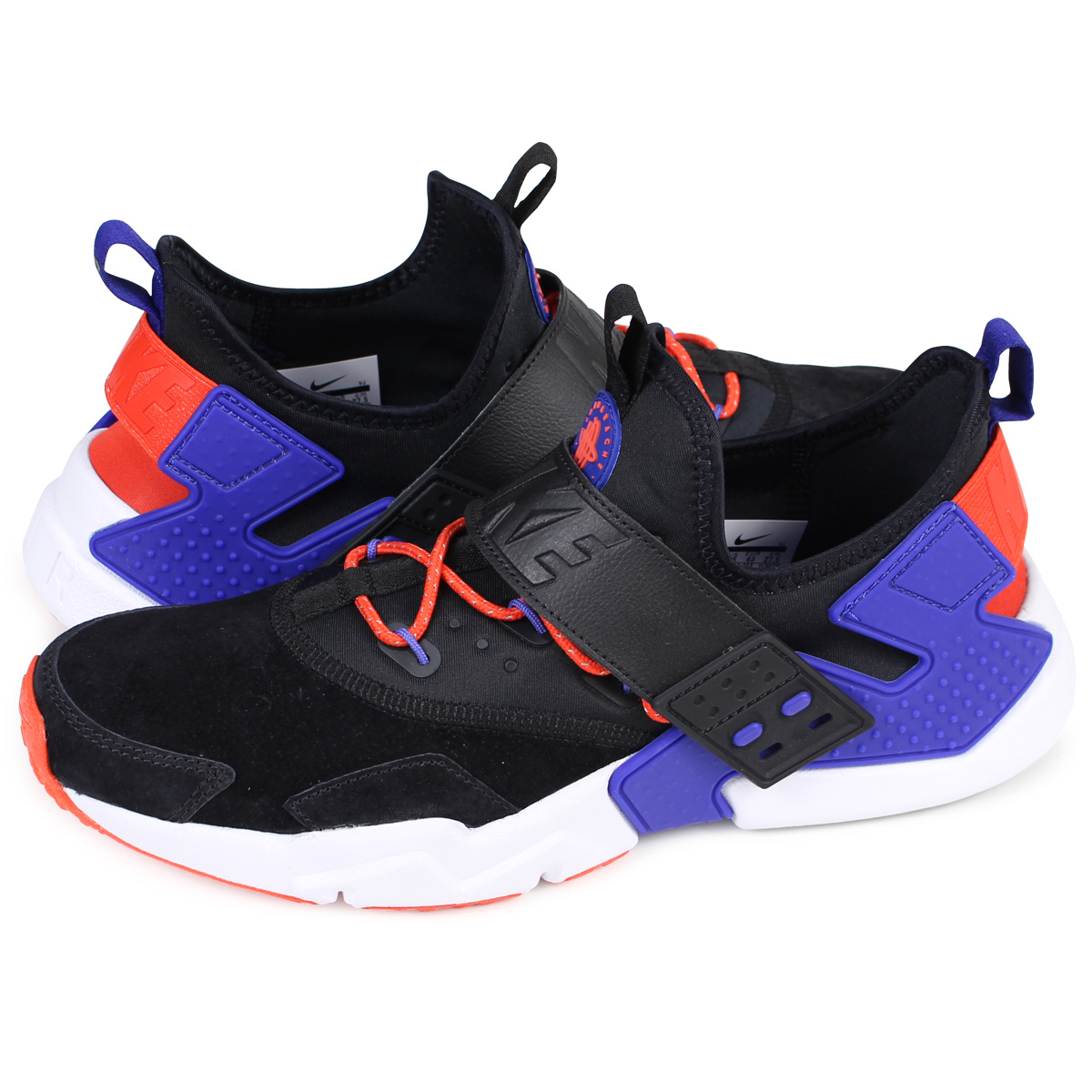 56321c82f5 NIKE AIR HUARACHE DRIFT PREMIUM ナイキエアハラチドリフトスニーカー AH7335-002 men black  [load ...
