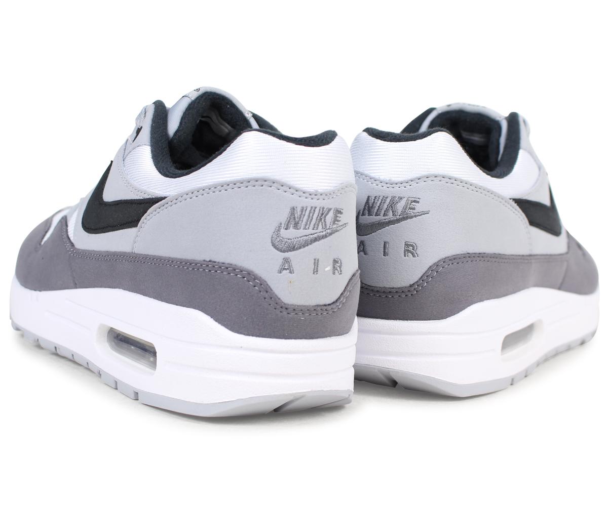 NIKE Kie Ney AMAX 1 sneakers men AIR MAX 1 AH8145 101 white white