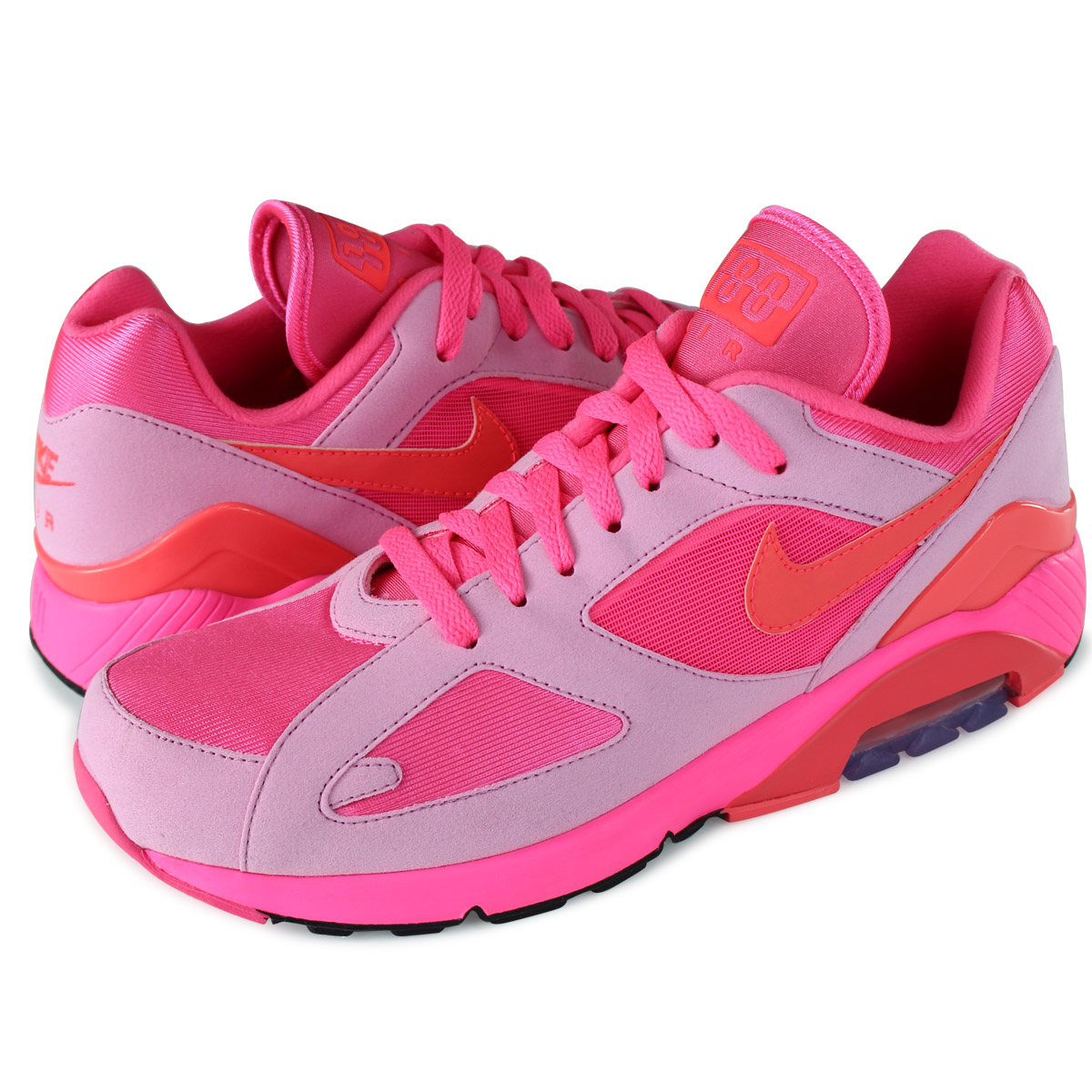 économiser 18ebf 3aaf2 NIKE COMME des GARCONS HOMME PLUS AIR MAX 180 CDG ナイキコムデギャルソンエアマックス 180  sneakers men AO4641-602 pink
