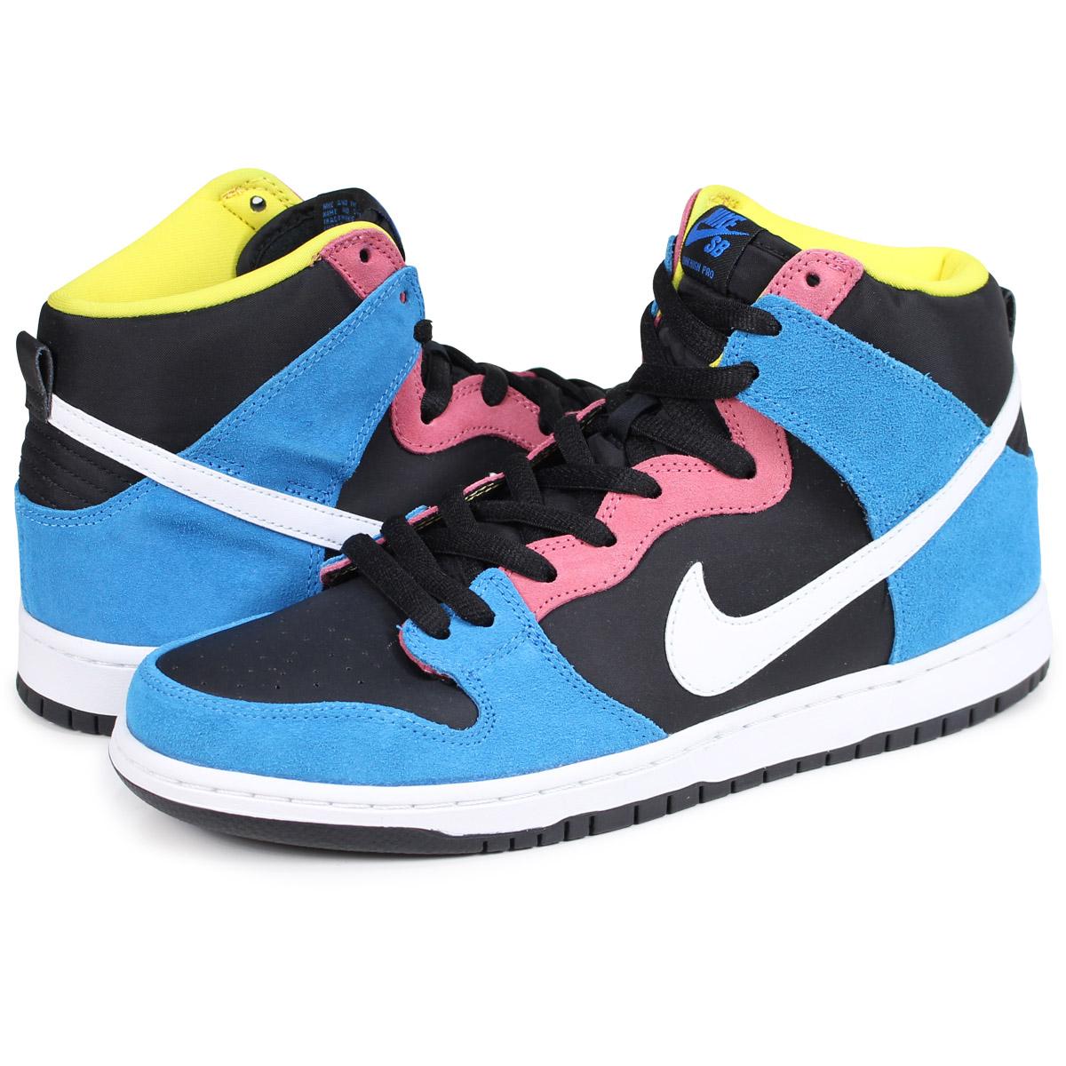purchase cheap a7942 4fd3f NIKE DUNK HIGH PRO SB Nike dunk high sneakers men 305,050-410 blue [6/16  Shinnyu load]