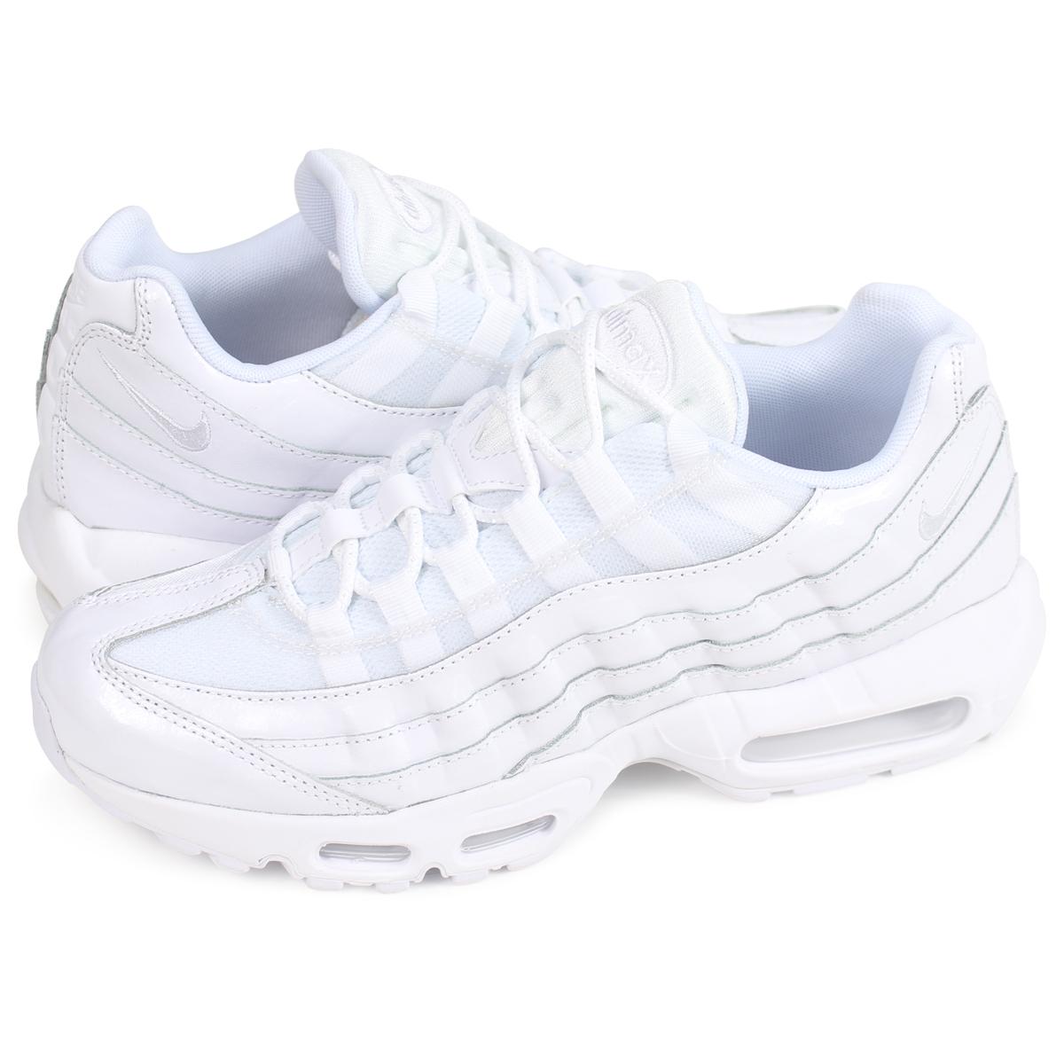 Nike NIKE Air Max 95 sneakers Lady's men WMNS AIR MAX 95 307,960 108 white white