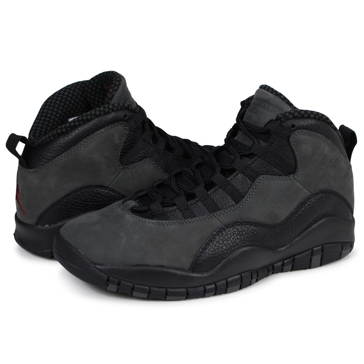 promo code f630d 97389 Nike NIKE Air Jordan 10 nostalgic sneakers men AIR JORDAN 10 RETRO  310,805-002 gray