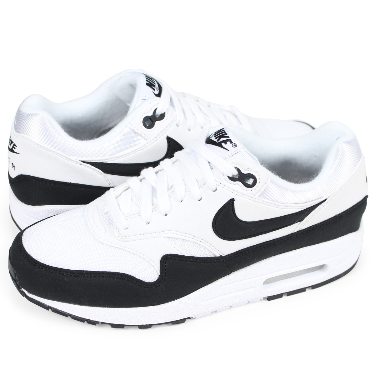 NIKE WMNS AIR MAX 1 Kie Ney AMAX 1 Lady's sneakers 319,986 109 white [load planned Shinnyu load in reservation product 330 containing]