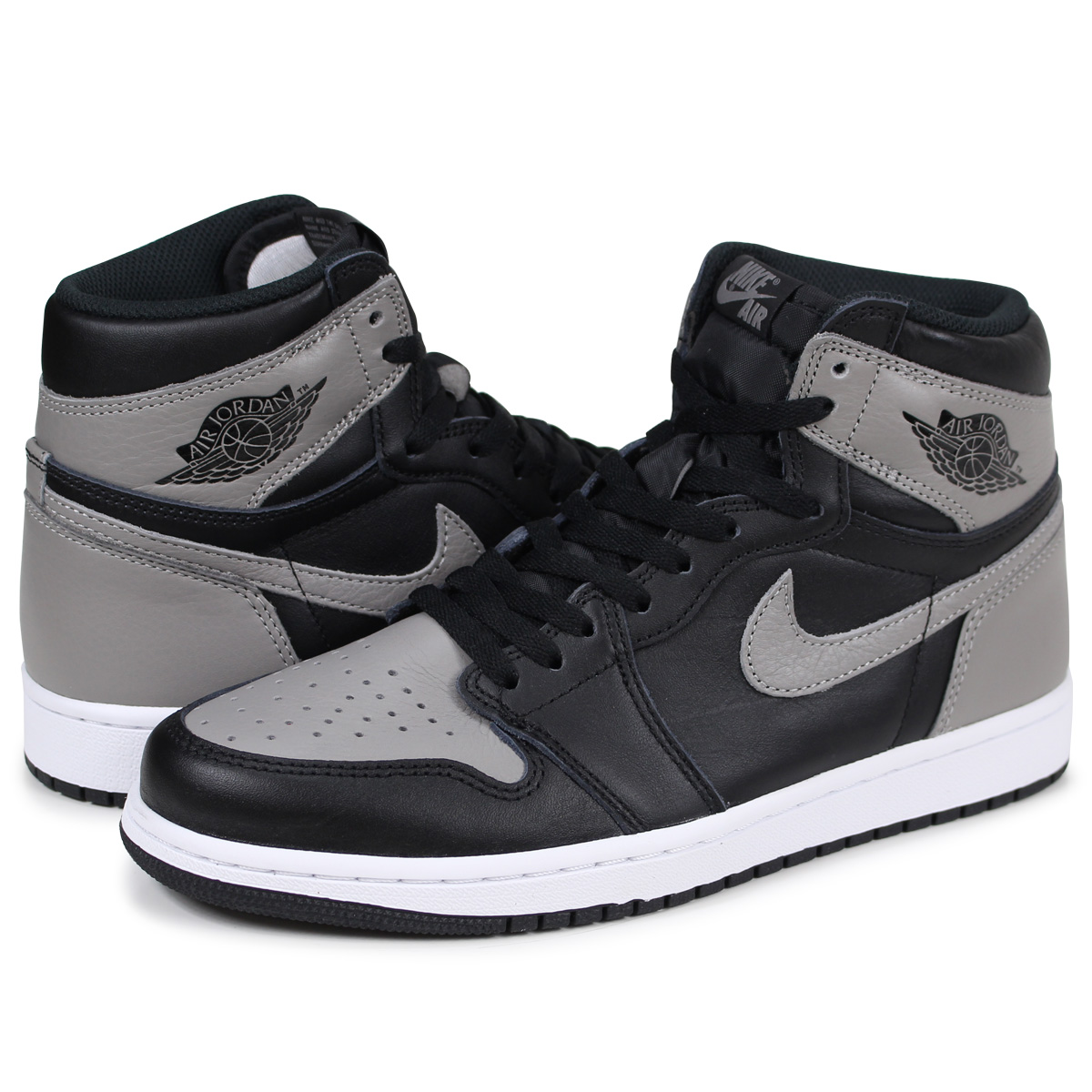 more photos edc53 ddad0 Whats up Sports: NIKE AIR JORDAN 1 RETRO HIGH OG SHADOW Nike Air Jordan 1  nostalgic high sneakers men 555,088-013 gray [load planned Shinnyu load in  ...