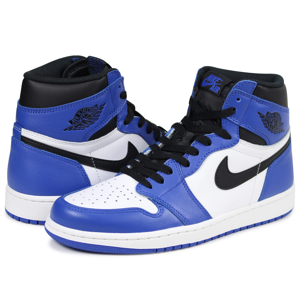 best sneakers 8dd37 5ac9d NIKE AIR JORDAN 1 RETRO HIGH OG GAME ROYAL Nike Air Jordan 1 nostalgic high  sneakers men 555,088-403 blue load planned Shinnyu load in reservation  product ...