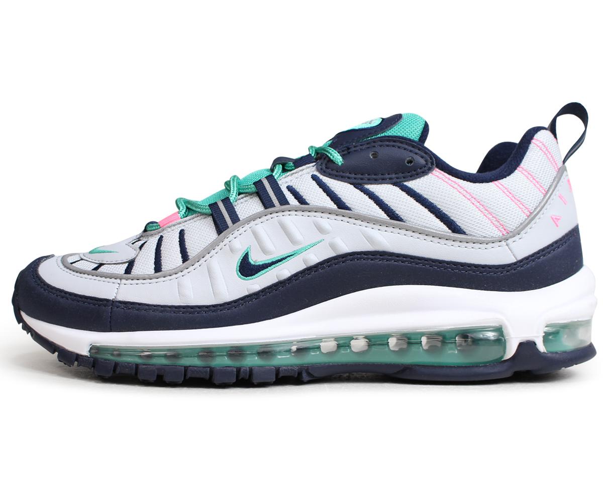 NIKE AIR MAX 98 Kie Ney AMAX 98 sneakers men 640,744-005 gray [5/31 Shinnyu load]