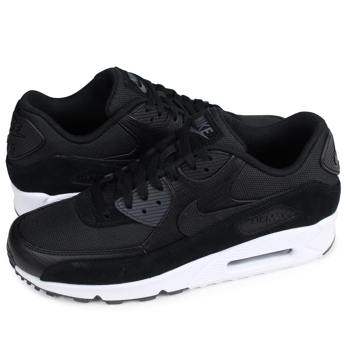 NIKE AIR MAX 90 PREMIUM Kie Ney AMAX 90 sneakers men 700,155 014 black