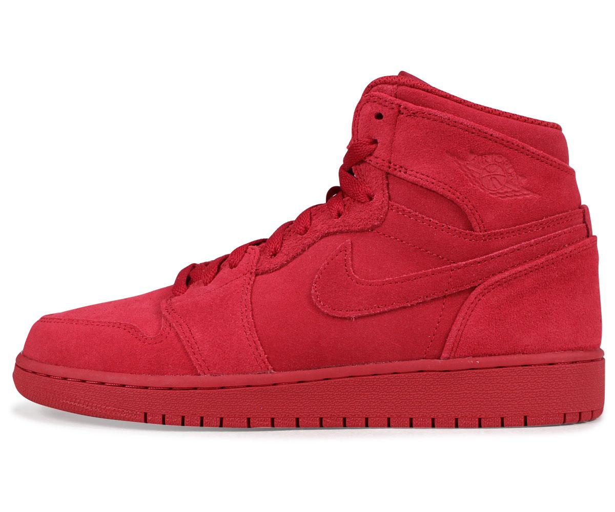 sale retailer 61bb5 92cd3 NIKE AIR JORDAN 1 RETRO HIGH BG Nike Air Jordan 1 nostalgic Haile Dis  sneakers 705,300-603 red  the 3 22 additional arrival