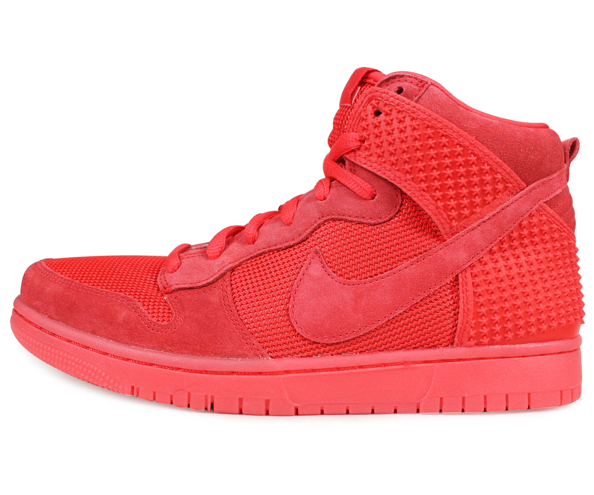 best authentic e796f 8ecd3 NIKE DUNK HIGH DUNK CMFT PREMIUM RED OCTOBER Nike dunk high sneakers men  705,433-601 red  load planned Shinnyu load in reservation product 3 22  containing