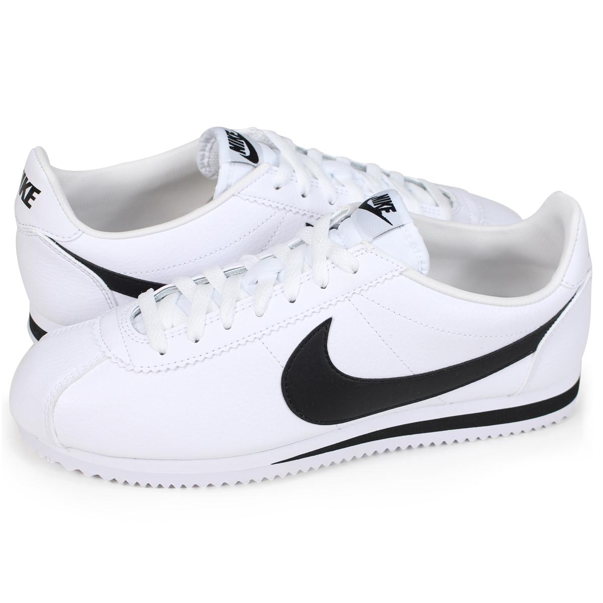 online retailer 563b7 d1fe1 ナイキコルテッツ NIKE sneakers men CLASSIC CORTEZ LEATHER 749,571-100 shoes white   12 21 Shinnyu load