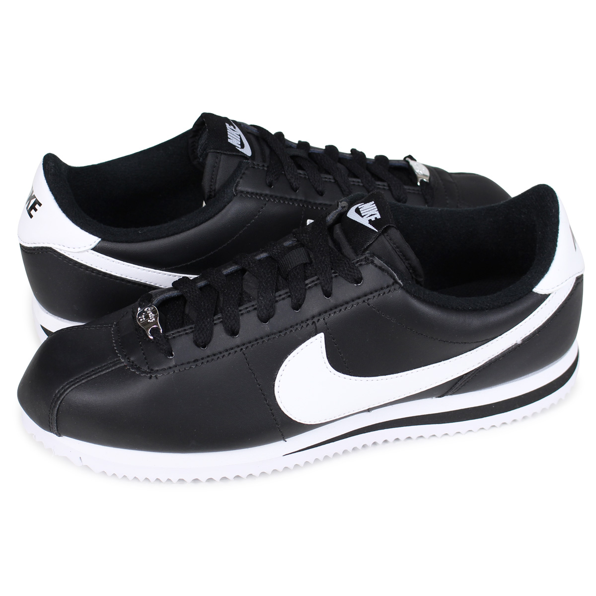 check out 066cd d1764 NIKE Nike Cortez sneakers CORTEZ BASIC LEATHER 819719-012 mens shoes black  ...