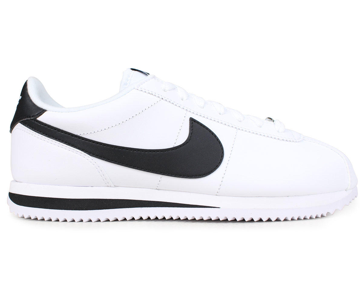 buy online 33cde 748d1 ... NIKE Nike Cortez sneakers CORTEZ BASIC LEATHER 819719-100 men s shoes  white ...