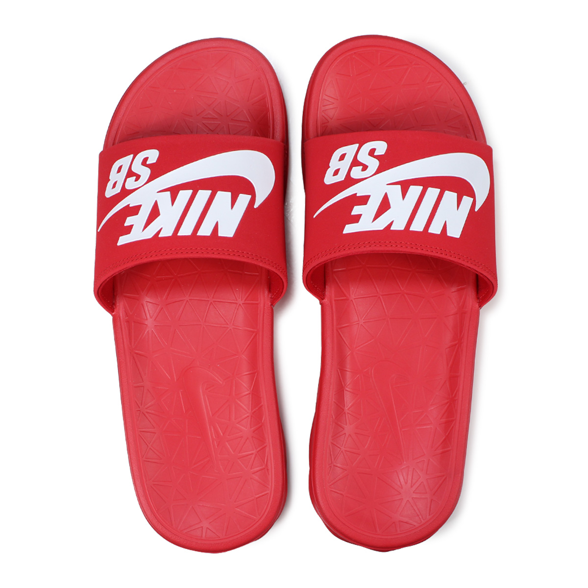 sports shoes 8696f 6bd8d NIKE BENASSI SOLARSOFT SLIDE Nike SB サンダルベナッシシャワーサンダルスポーツメンズレディース  840,067-601 red [load planned Shinnyu load in reservation product 6/16  containing]