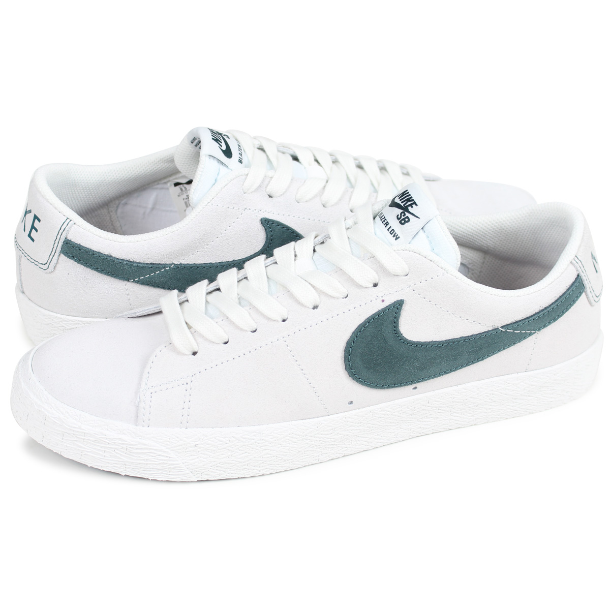 online retailer ebc37 aa4c7 NIKE BLAZER ZOOM LOW Nike SB blazer low sneakers men 864,347-101 off-white  [load planned Shinnyu load in reservation product 3/30 containing]
