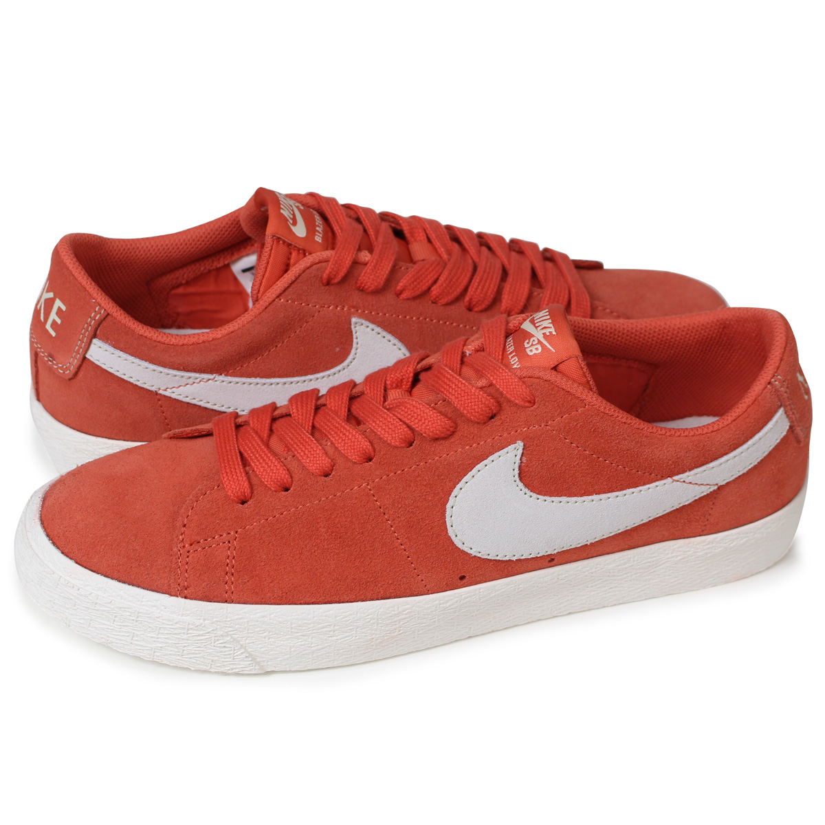 the latest 8b0ed a4378 NIKE BLAZER ZOOM LOW Nike SB blazer low sneakers men 864,347-800 orange  [load planned Shinnyu load in reservation product 5/12 containing]