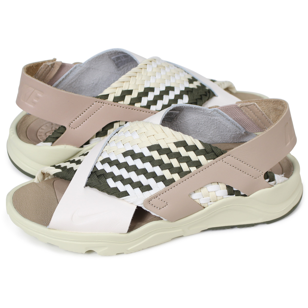 new concept 9b922 7077c NIKE WMNS AIR HUARACHE ULTRA ナイキエアハラチウルトラレディースサンダル 885,118-201 beige [load  planned Shinnyu load in reservation product 5/19 containing]