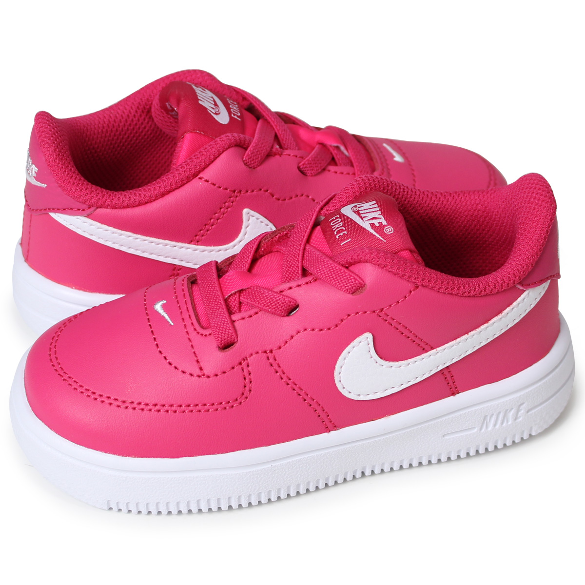 official photos f7875 a0492 NIKE FORCE 1 TD Nike force 1 baby sneakers 905,220-602 pink load planned  Shinnyu load in reservation product 51 containing