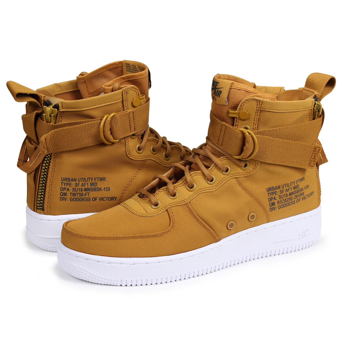acheter populaire b034f 3384d NIKE SPECIAL FIELD AIR FORCE 1 MID Nike air force 1 sneakers men special  field 917,753-700 SF AF1 brown [load planned Shinnyu load in reservation ...