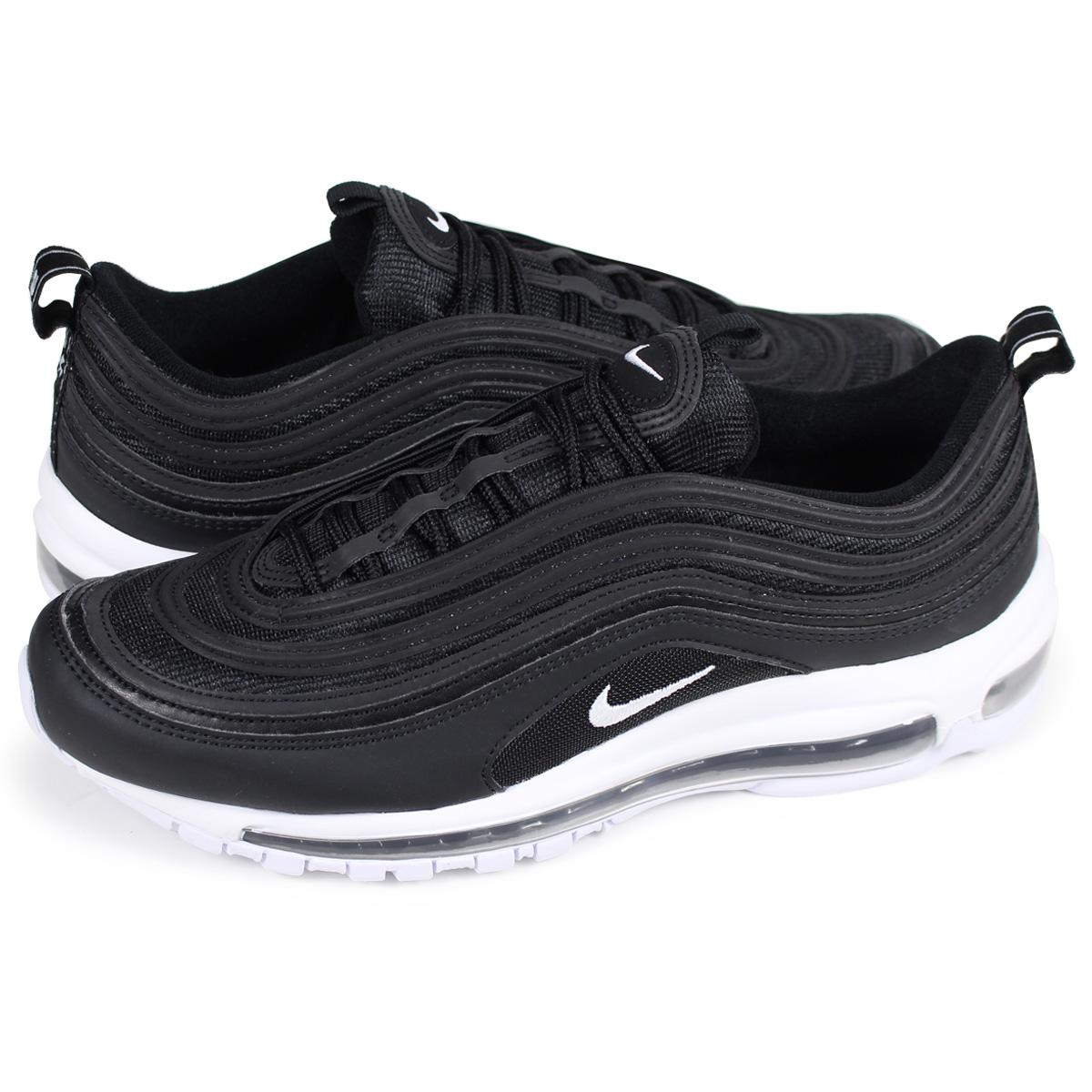 Nike NIKE Air Max 97 sneakers men AIR MAX 97 921,826 001 black black [the 1010 additional arrival]