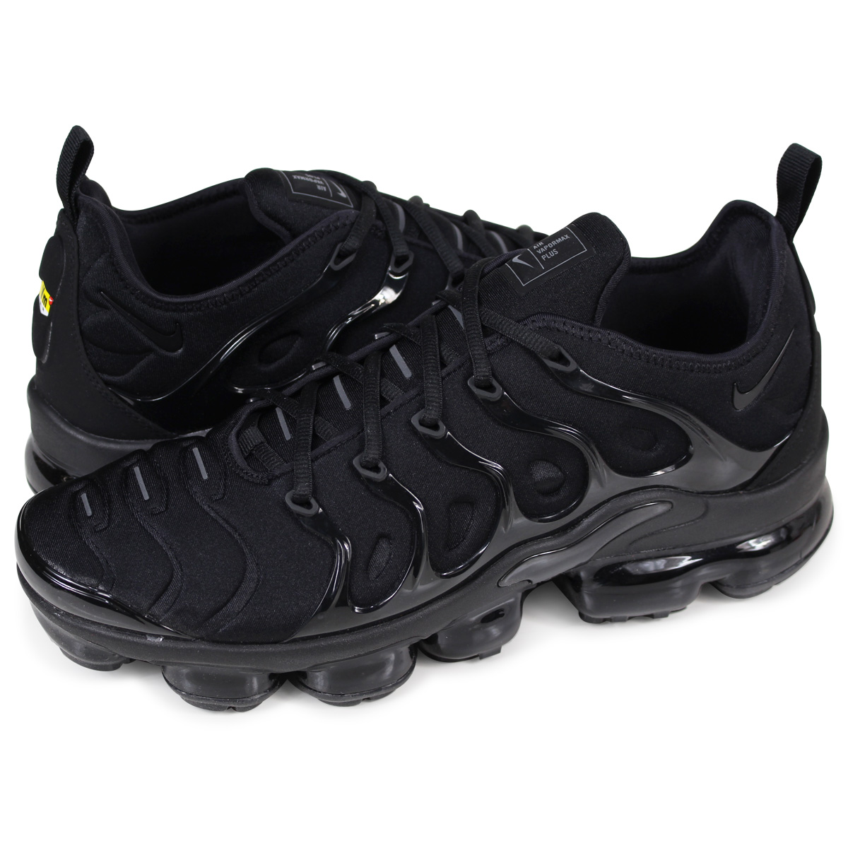 NIKE AIR VAPORMAX PLUS Nike air vapor max plus sneakers men 924,453-004  black 315 Shinnyu load