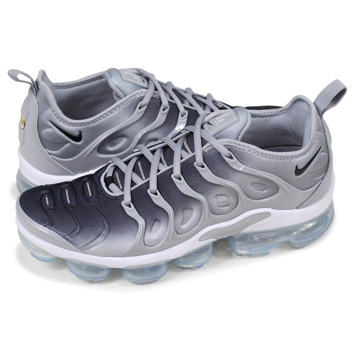 size 40 dc008 f9541 NIKE AIR VAPORMAX PLUS Nike air vapor max plus sneakers men 924,453-007  gray [load planned Shinnyu load in reservation product 5/12 containing]