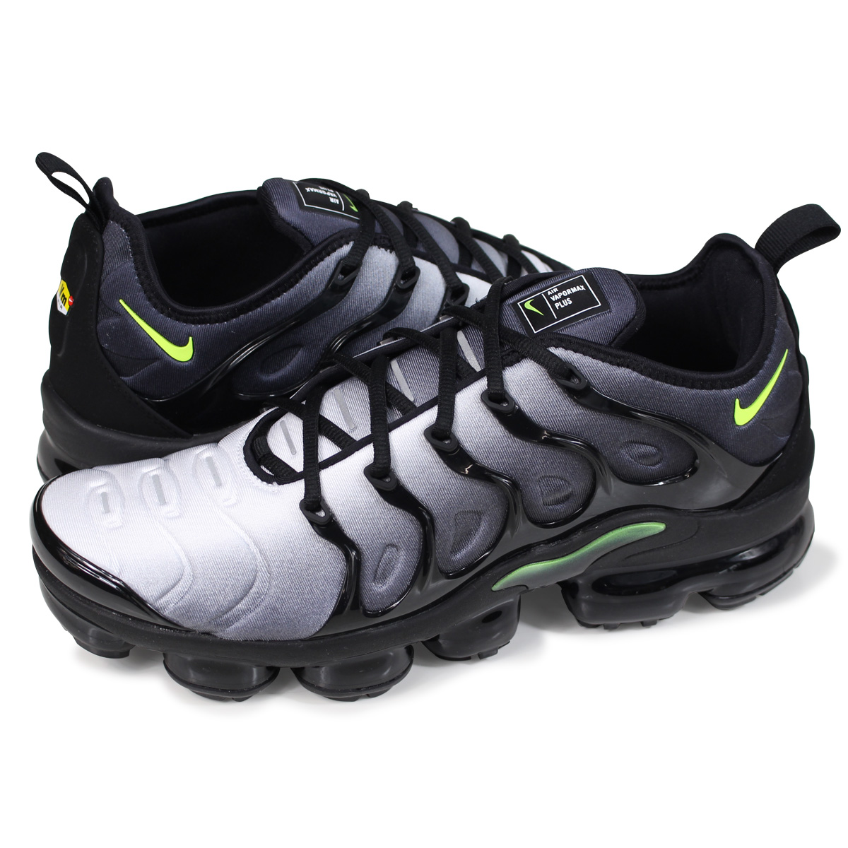 best sneakers eed9b 89157 NIKE AIR VAPORMAX PLUS Nike vapor max plus sneakers men 924,453-009 black  [4/17 Shinnyu load]