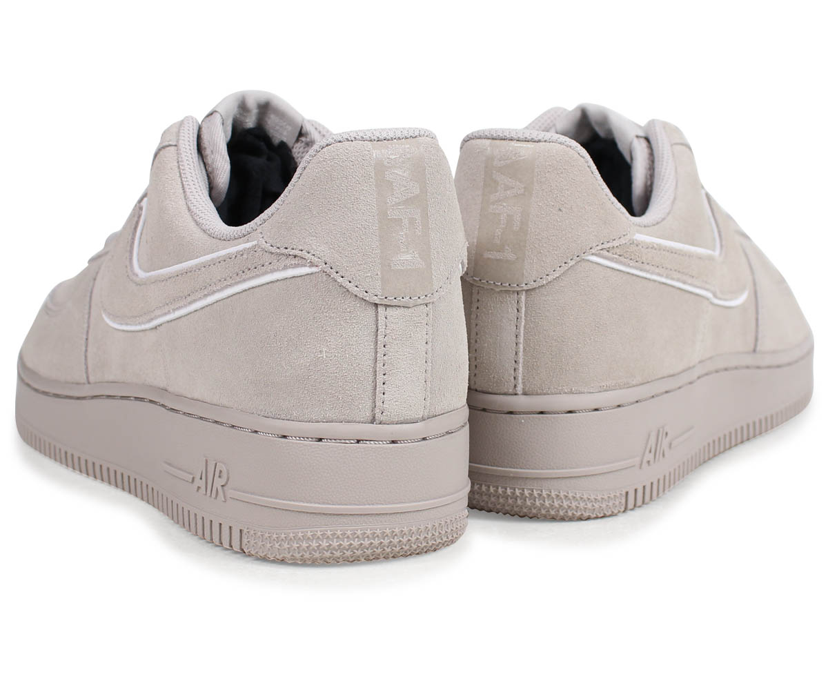 best service b8a0e 15c3f NIKE AIR FORCE 1 SUEDE Nike air force 1 07 LV8 sneakers men AA1117-201 gray   load planned Shinnyu load in reservation product 3 30 containing
