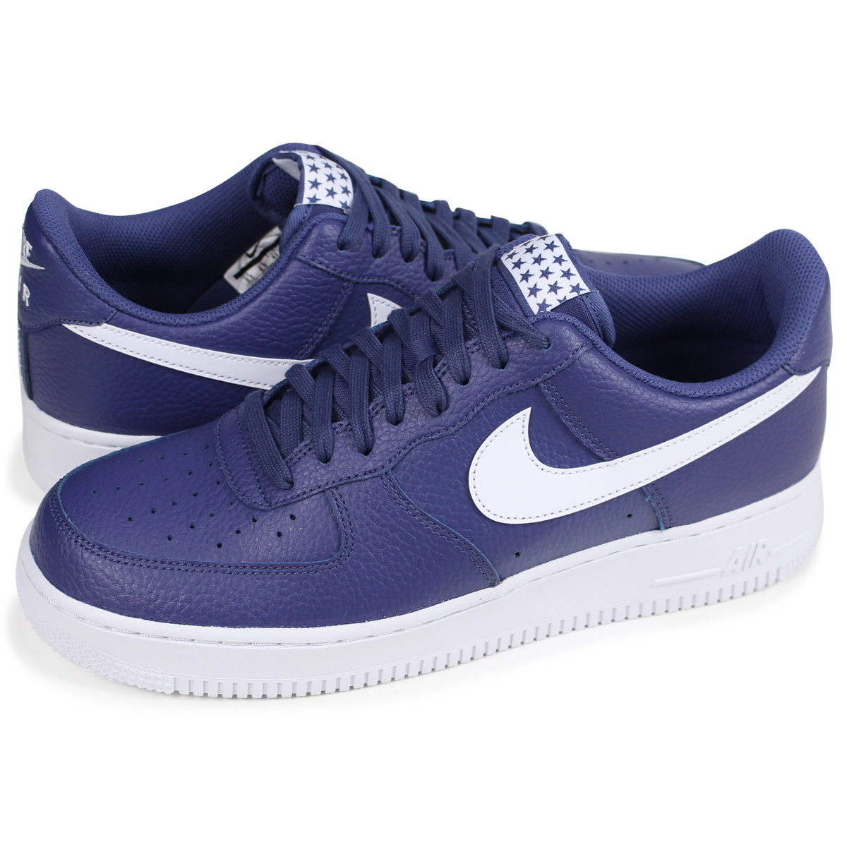 NIKE AIR FORCE 1 Nike air force 1 07 sneakers men AA4083 401 blue [load planned Shinnyu load in reservation product 330 containing]