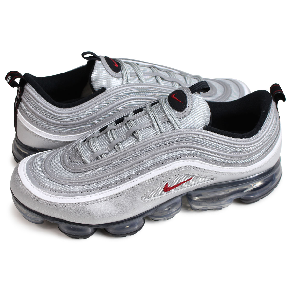 low priced 545a8 62640 NIKE AIR VAPORMAX 97 Nike air vapor max 97 sneakers men AJ7291-002 silver  [load planned Shinnyu load in reservation product 5/31 containing]