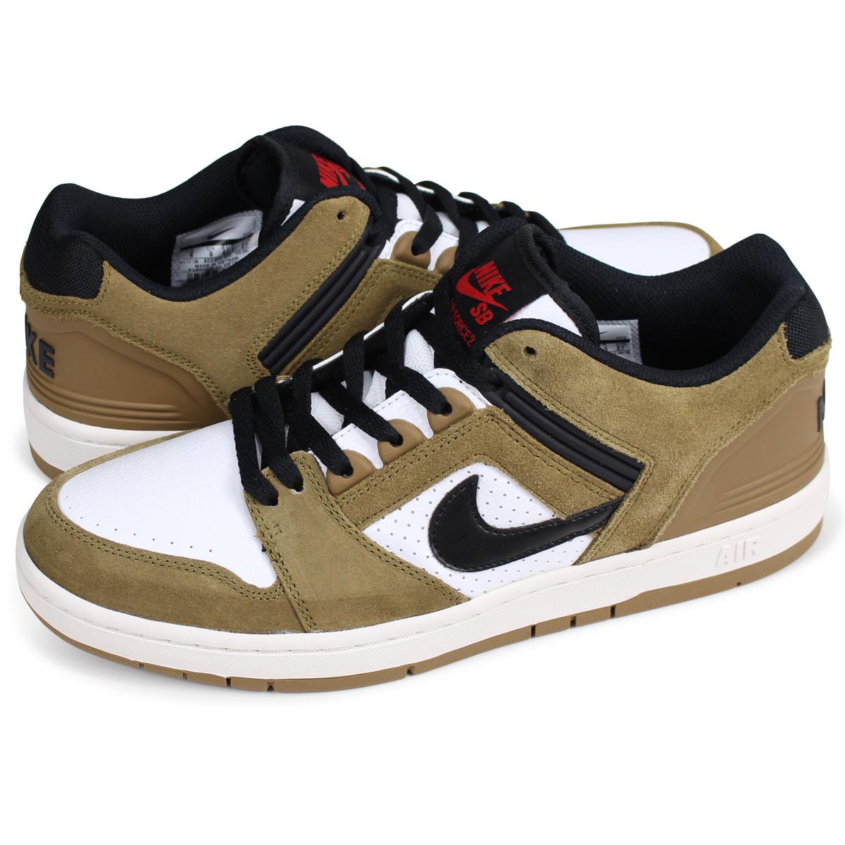 NIKE SB AIR FORCE 2 LOW ESCAPE Nike air force 2 sneakers men 917,753 700 brown [61 Shinnyu load]