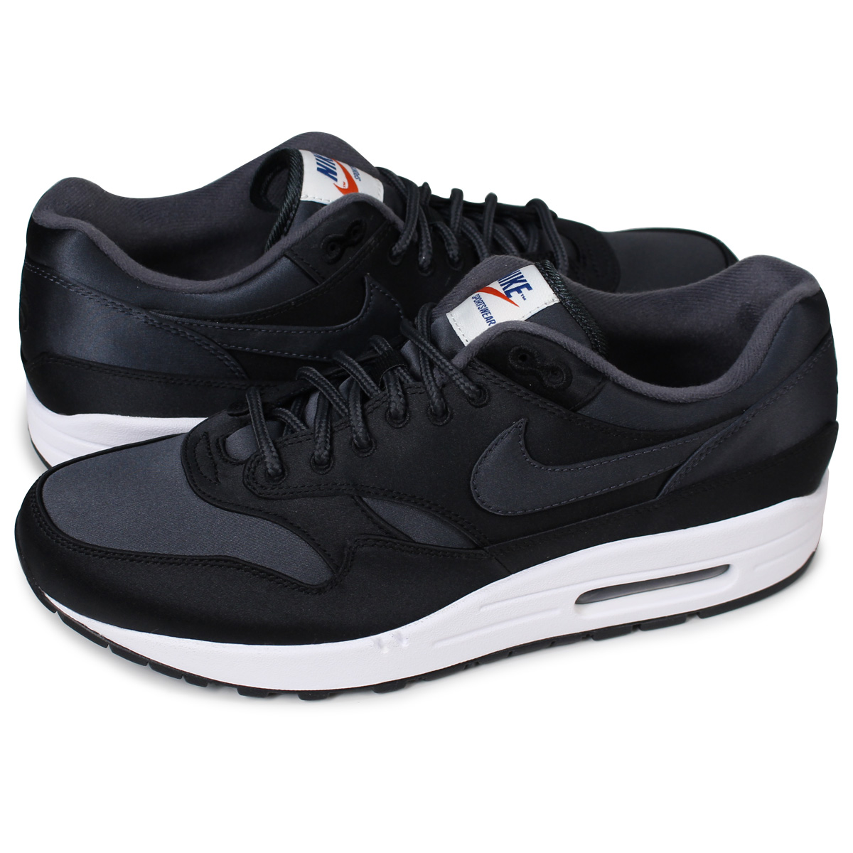 purchase cheap 71d2c 89e9d NIKE AIR MAX 1 SE Kie Ney AMAX 1 sneakers men AO1021-001 black  load  planned Shinnyu load in reservation product 5 19 containing