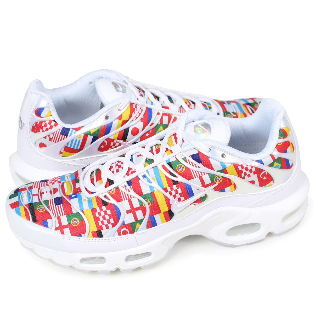 NIKE AIR MAX PLUS NIC QS Kie Ney AMAX plus sneakers men AO5117 100 white [load planned Shinnyu load in reservation product 616 containing]
