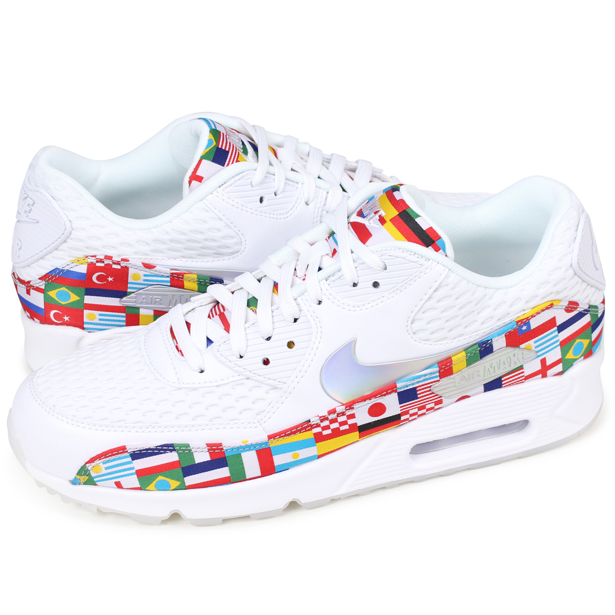 the best attitude 668c1 4e87c NIKE AIR MAX 90 NIC QS Kie Ney AMAX 90 sneakers men AO5119-100 white [load  planned Shinnyu load in reservation product 6/16 containing]