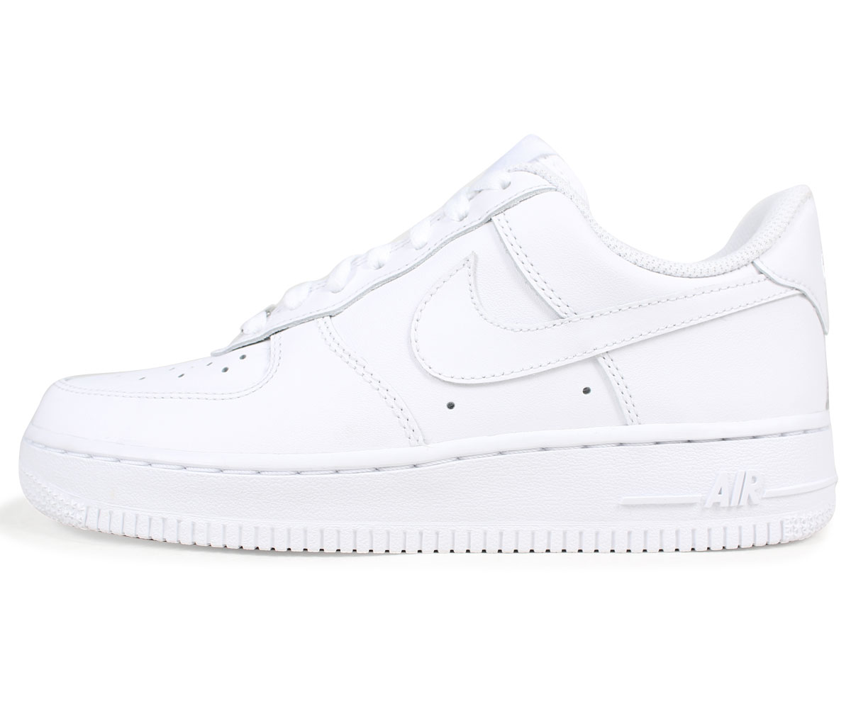 NIKE WMNS AIR FORCE 1 07 Nike air force 1 sneakers Lady's white 315,115 112 [1227 reentry load]