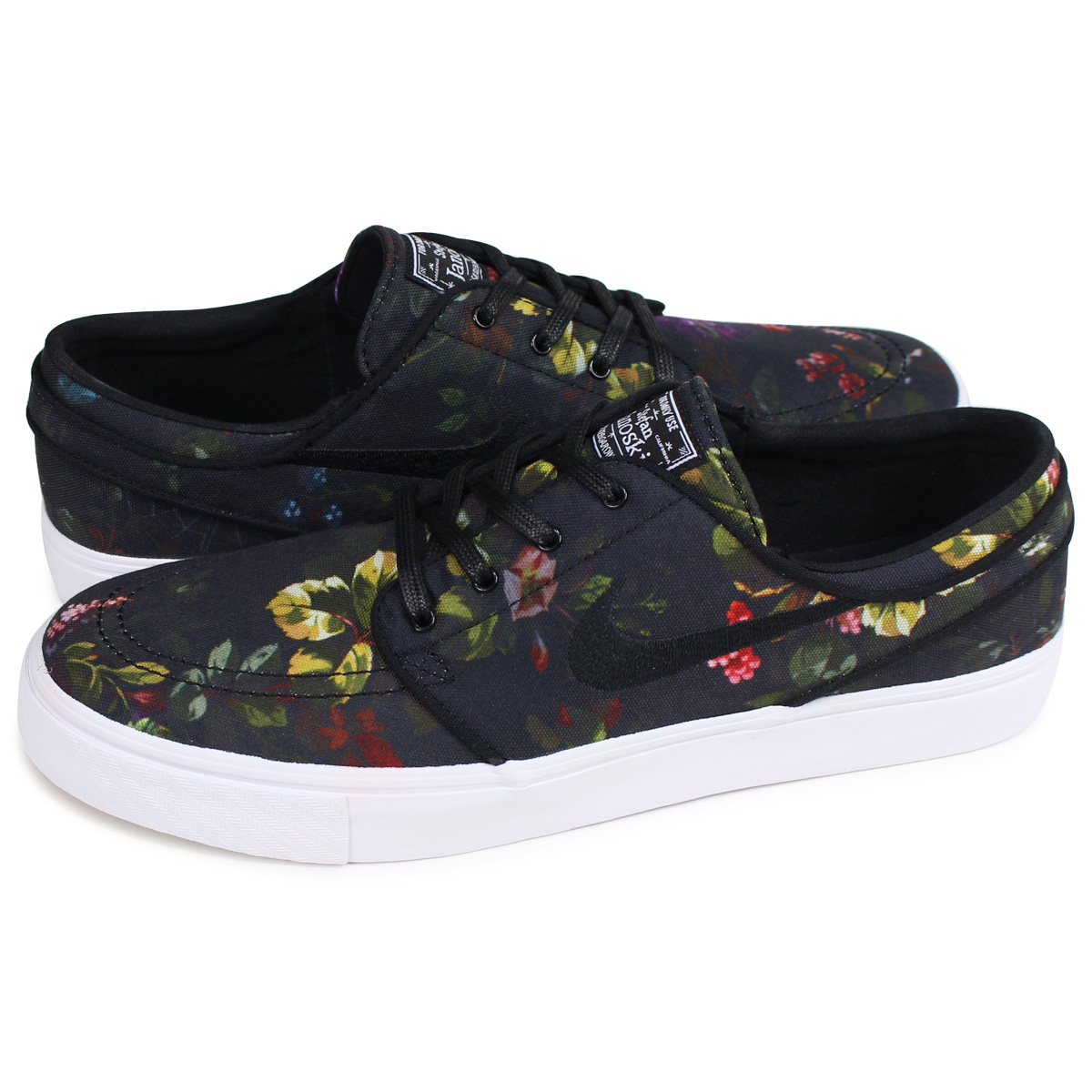 NIKE SB ZOOM STEFAN JANOSKI CANVAS ナイキステファンジャノスキースニーカーメンズ 615,957 900 black [load planned Shinnyu load in reservation product 811 containing]