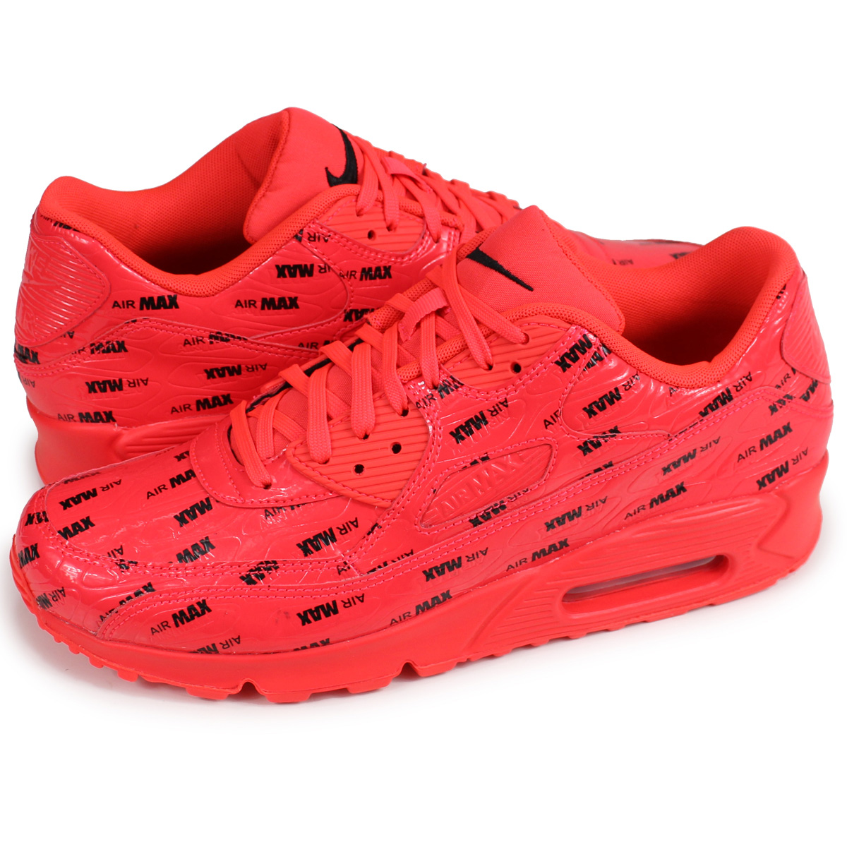 detailed look 9942e 9cc0f Nike NIKE Air Max 90 sneakers men gap Dis AIR MAX 90 PREMIUM 700,155-604  red red [the 7/25 additional arrival]