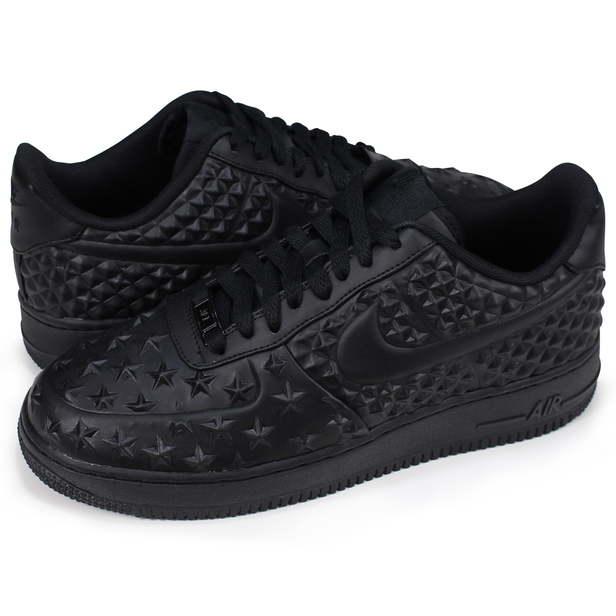 brand new f37e5 7c42d NIKE AIR FORCE 1 LOW 07 LV8 INDEPENDENCE DAY Nike air force 1 sneakers men  789,104-001 black [load planned Shinnyu load in reservation product 6/29 ...