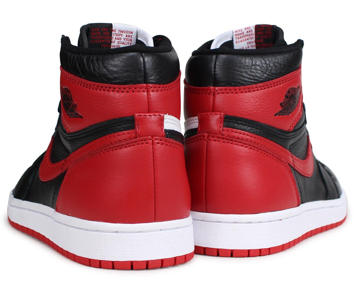 designer fashion 73611 f6b50 NIKE AIR JORDAN 1 RETRO HIGH OG HOMAGE TO HOME Nike Air Jordan 1 nostalgic  Haile Dis sneakers 861,428-061 red  load planned Shinnyu load in  reservation ...