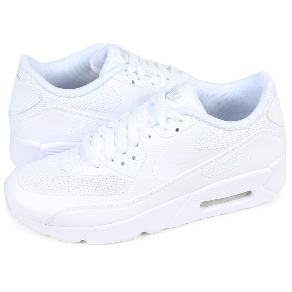 Nike NIKE Air Max 90 ultra Lady's sneakers AIR MAX 90 ULTRA ESS 2.0 GS 869,950 100 shoes white [729 Shinnyu load]