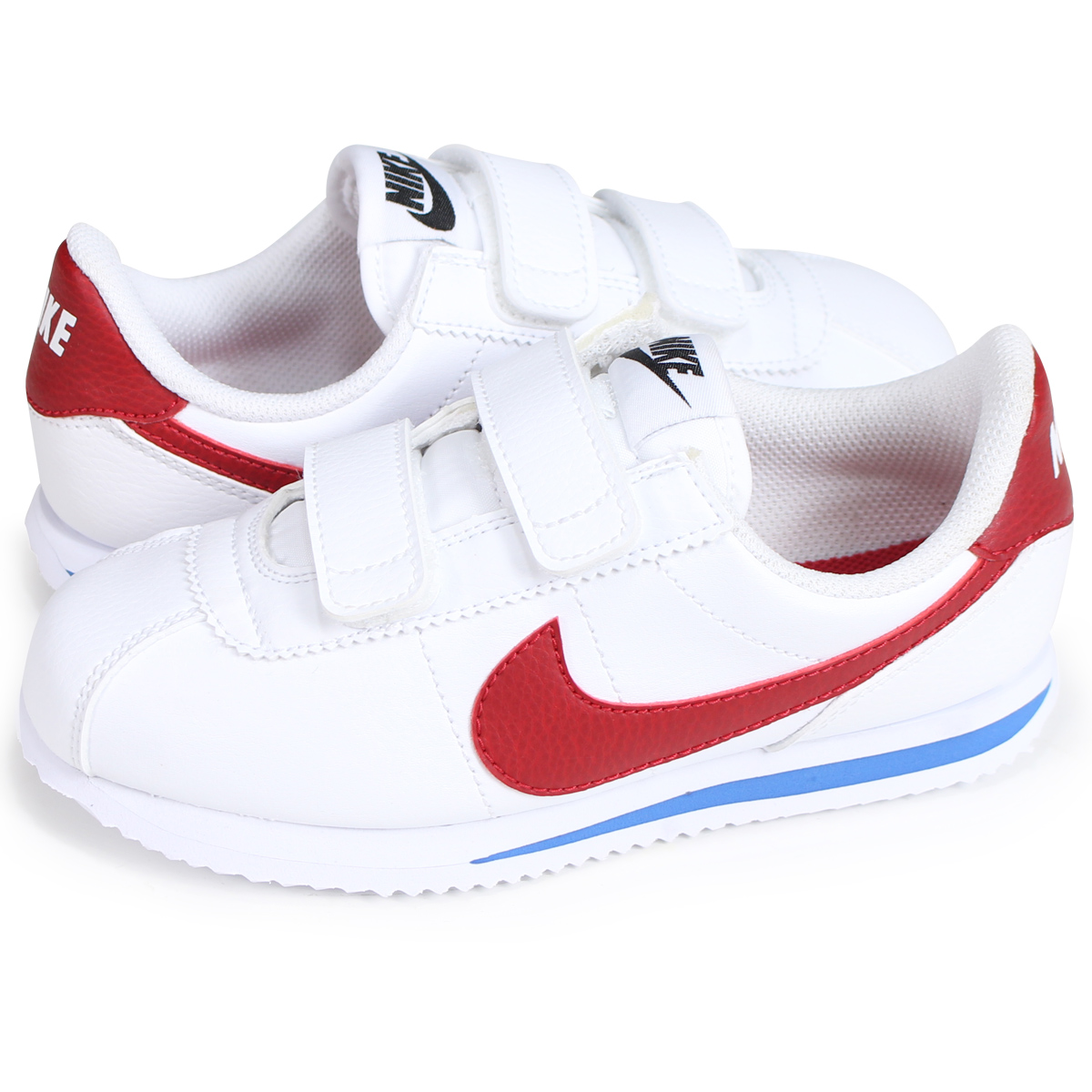 huge selection of 320e4 468f4 NIKE CORTEZ BASIC SL PSV ナイキコルテッツキッズスニーカー 904,767-103 white  load planned  Shinnyu load in reservation product 7 7 containing